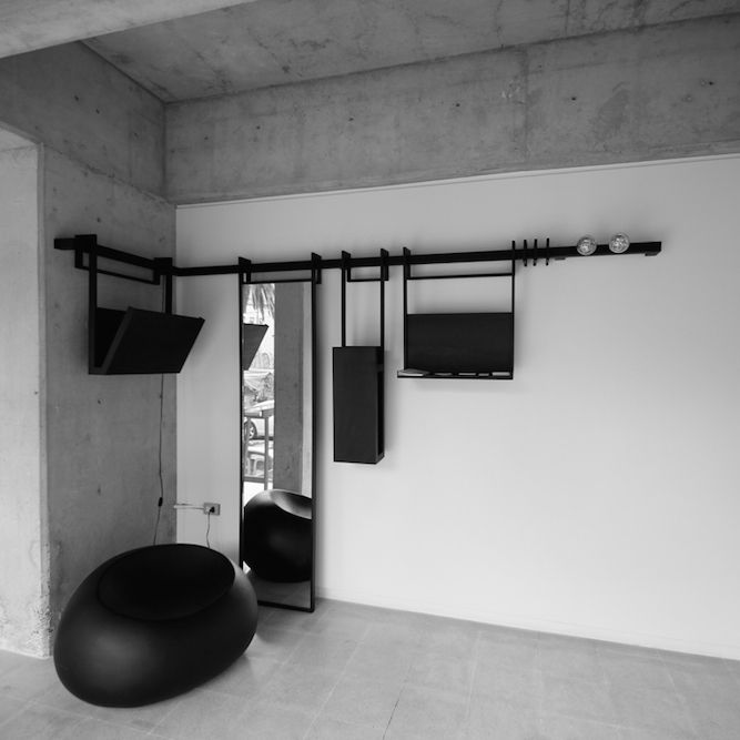 Mexican design firm Manada° have created WIRT, a piece of modular hallway furniture with an elegant minimalist design. In fact WIRT actually comprises several different objects typically found in hallways into one system in which…