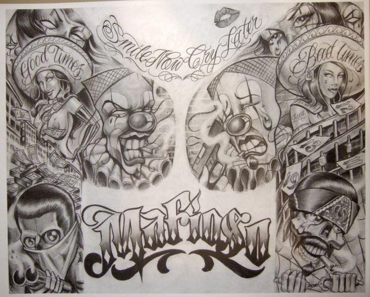Boog Tattoo Flash Prisongangster Art My Type Of Art for Boog  Tattoo Artist