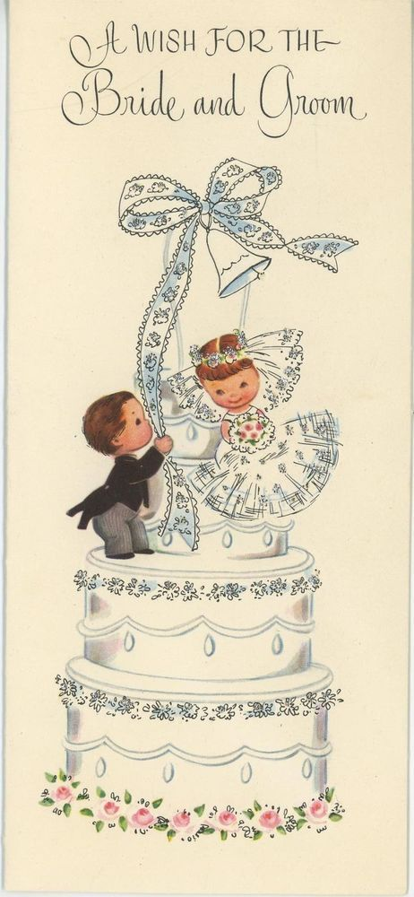 Vintage Cute Bride Amp Groom Wedding Children On Wedding