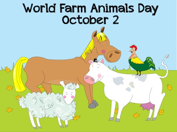 It's World Farm Animals Day! | shutterhedge