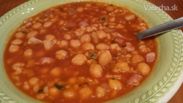 Cícerová polievka na sardínsky spôsob