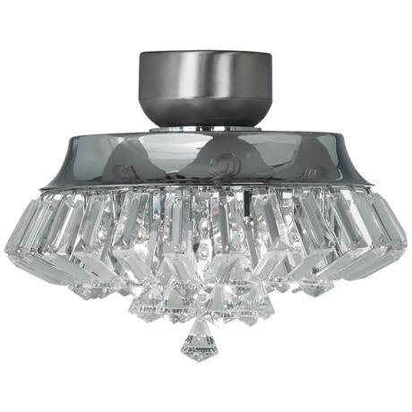 Light For Ceiling Fan: Ceiling Fan Light Kits - Deco Crystal Chrome Universal Light Kit http://www,Lighting
