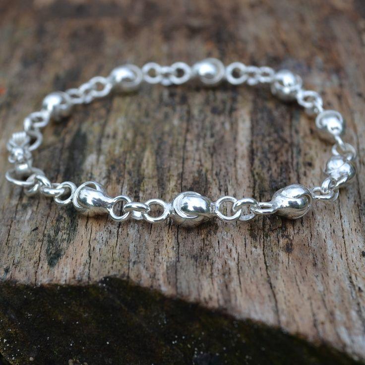 Elegante zilveren armband Gratis verzending in NL