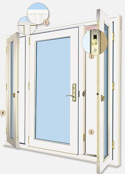 Vented Sidelight Patio Doors Design Features   Neuma Doors   Manufacturer  Of Fiberglass Patio Doors