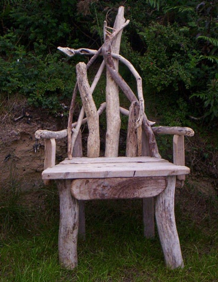 Driftwood Chair - have a seat.