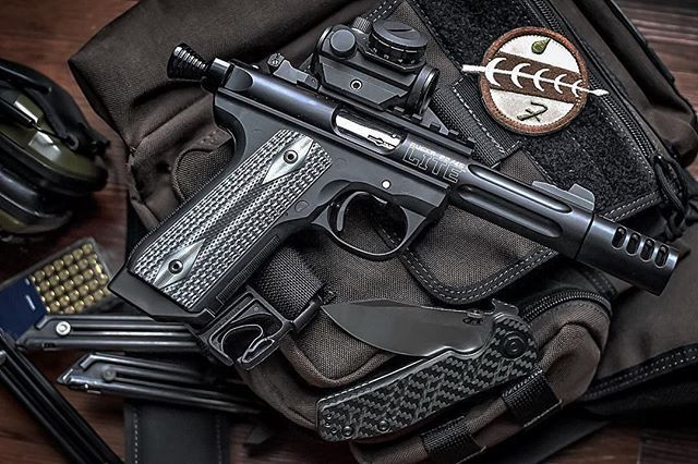 Weekend blaster... This @rugersofficial .22 looks like a whole bunch of fun.  Photo Credit: @feraljackalope