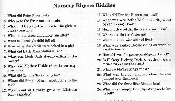 shower baby nurseryrhymegame jpg 575 nursery rhymes baby shower games