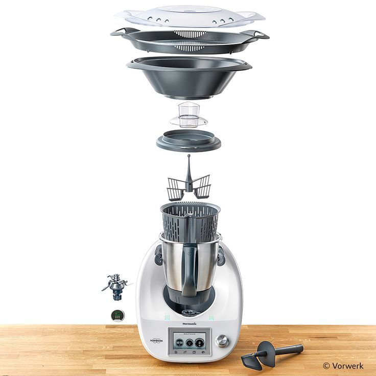 COMBINING DESIGN WITH FUNCTIONALITY - Multifunctional kitchen appliances that weigh, chop, and cook within a single device are now hugely popular. The top brand #Thermomix  is flying off shelves all over the world. #originalplexiglas lends the surface of the housing an elegance that endures. #plexiglas #evonikplexiglas #acrylic @thermomix_de