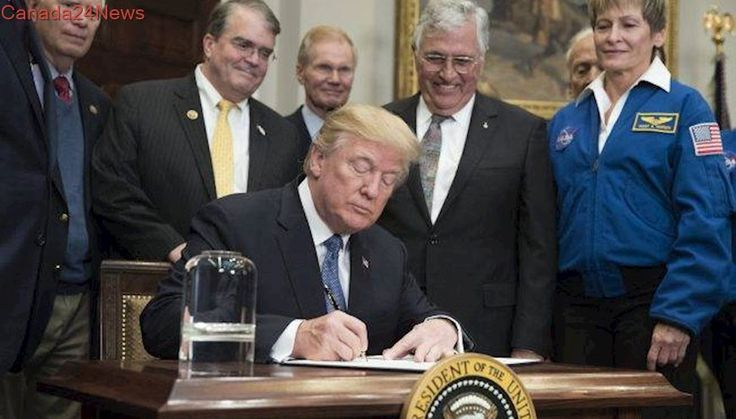 Trump directs NASA to send Americans to the Moon, lay foundations for Mars mission