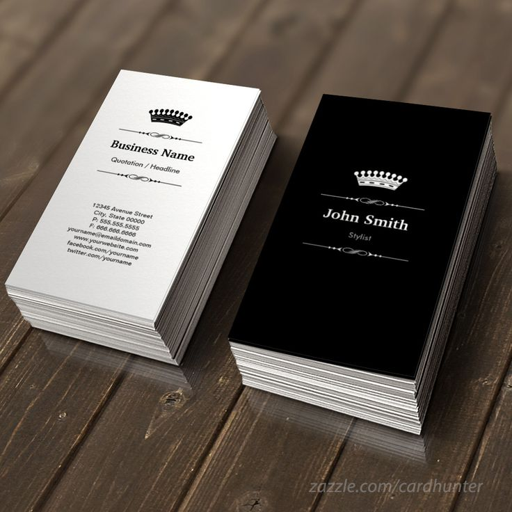 556 best business card templates images on pinterest business card stylist elegant royal black white business card accmission Images