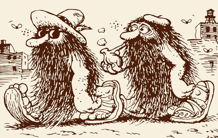 Hairy from Zap Comix #3 by Robert Crumb (underground comics)