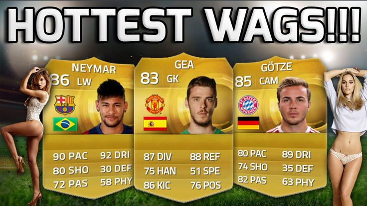#15 #a #best #BUILDER #F... #fifa #fifa15 #FIFA15SquadBuilder #fit #fittest #footballers #girlfriend #hot #hottest #hottestwags #infootball #looking #nicest #of #sexiest #sexy #squad #team #the #wags #wife #with #wives FIFA 15 - HOTTEST WAGS!!! - A Team Of Footballers With The Hottest WAGS! - Fifa 15 Squad Builder