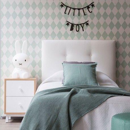 17 mejores ideas sobre cabeceros tapizados en pinterest - Cabeceros de cama tapizados tela ...