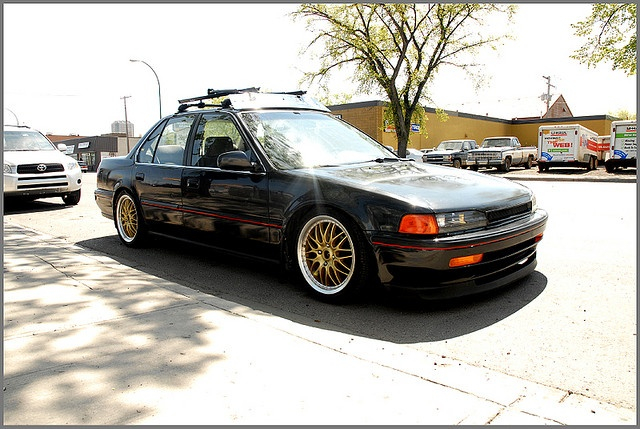 1992 Honda Accord CB7 by Kemp Nguyen, via Flickr