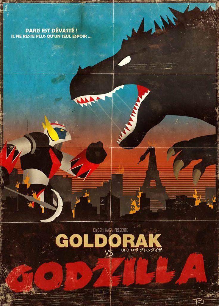Goldo Expo – Une exposition collective en hommage à Goldorak
