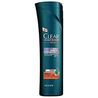 Clear Men Scalp Therapy 2 in 1 Shampoo   Conditioner, Scalp Comfort Anti-Dandruff 12.9 oz >>> For more information, visit image link. #hairupdoideas