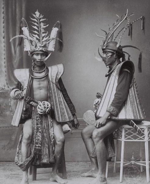 Nias Warriors between 1892-1922