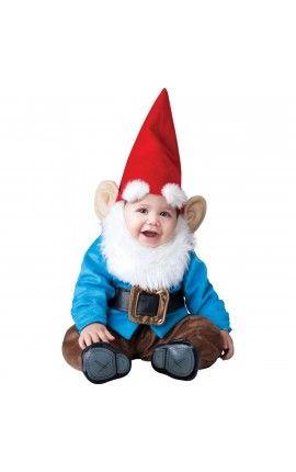disfraz de gnomo del pequeo jardn para beb