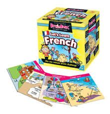 learn the French terminology for everyday objects with the English translation with brainbox, the fast and fun memory game that does not require any pens, pencils, paper, playing board or even a table! each round takes 10 seconds so all players are involved. A game lasts as long as you want it to (10 minutes is the norm) but playing for 5 minutes is great fun also. #french #brainbox #learning #camelotkids