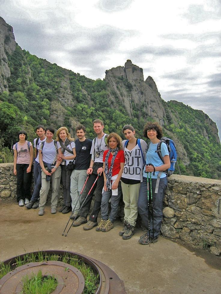 fotografia di gruppo dal promontorio...