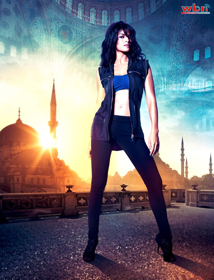 Indian Bollywood Hindi Movie Actress Jacqueline Fernandez ... Race 2
