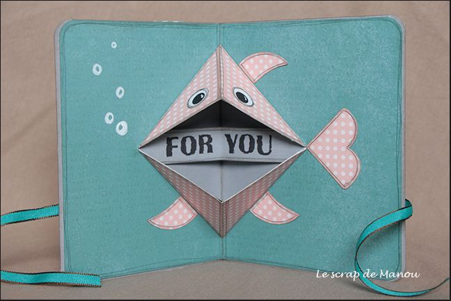 Tuto carte Pop up
