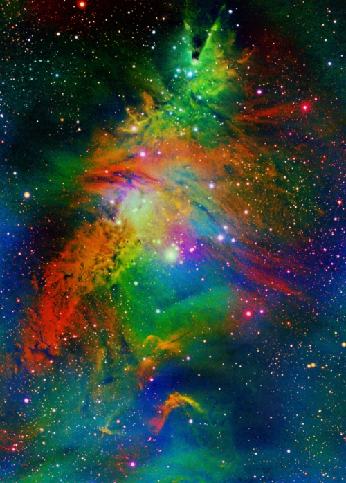 Christmas Tree Nebula NGC 2264...