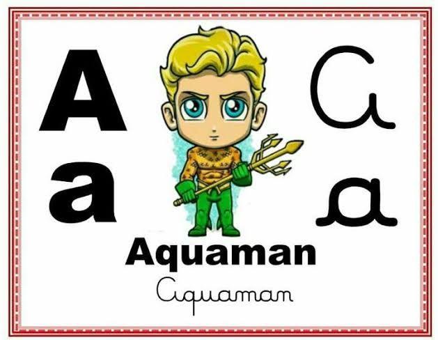 Alfabeto Super Herois Pesquisa Google Alfabeto Ilustrado