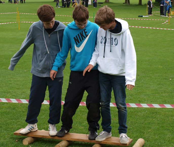 team building activities secondary school