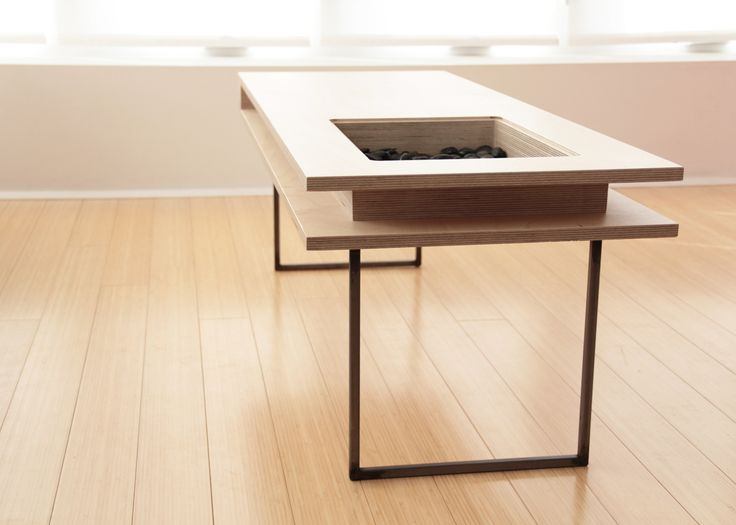Simple Table Design simple table with salvaged birch branches on its top Craft Design Volume Coffee Table500 Click For More Info