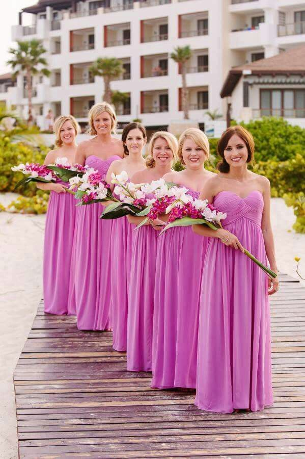 118 best Bridemaids images on Pinterest | Damas de honor, Damitas de ...