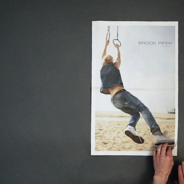 Brook Pifer | #soCal - Mail call! New promo from @brookpifer featuring awesome new lifestyle work shot in sunny California!  Got yours?!! #brookpifer #selfpromotion #newsprint #lifestyle #photography #takeonme #thedenatbigleo