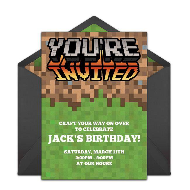 Best 25 minecraft invitations ideas on pinterest mind for Free mind craft games