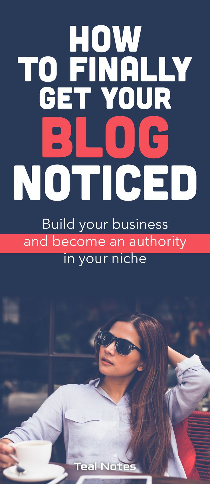 To be successful as a full-time blogger you need an online marketing strategy to make your presence known, grow a following, and become an authority in your niche. Check out this in-depth post for ideas, templates, examples, and actionable tips to create a process and a framework for your bog to thrive. Teal Notes | Online Marketing | Make Money Blogging | Strategy for Beginners |