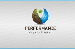 Logo design for Performance Agricultur and Seed