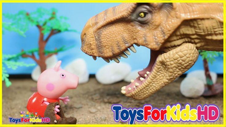 Peppa la Cerdita en español y Videos de Dinosaurios para niños Lo mejor de Videos de peppa pig  #2