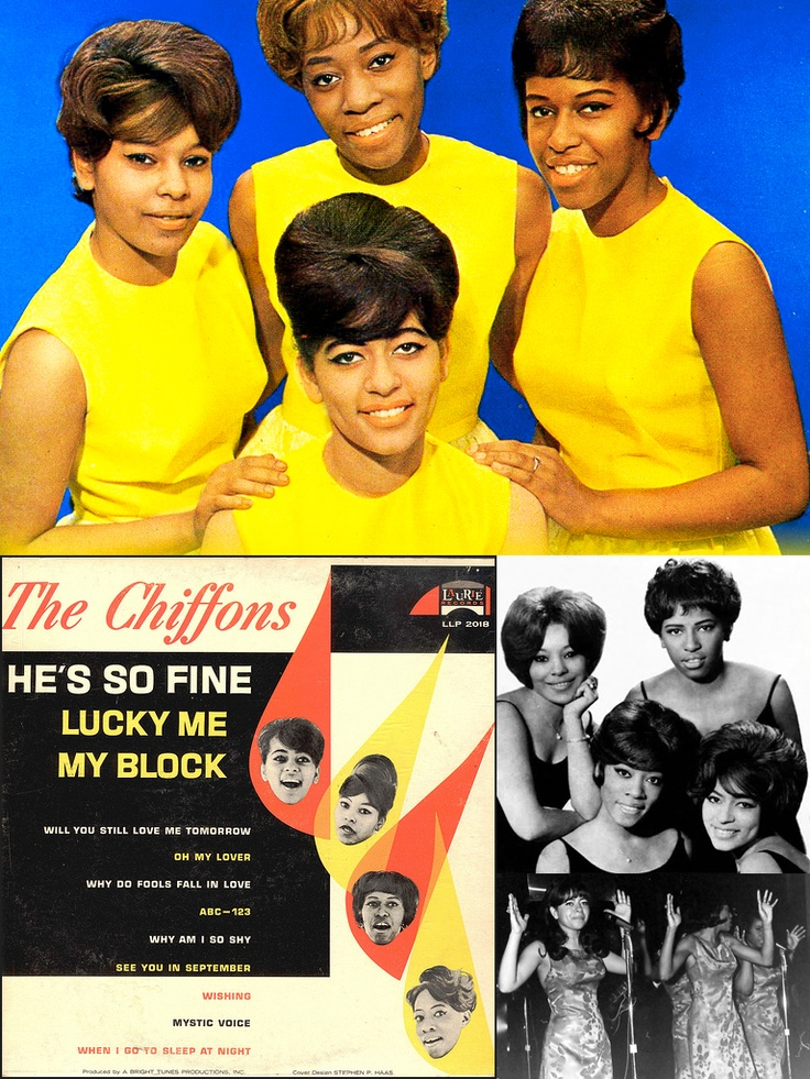 """The Chiffons first single, """"He's So Fine"""" released in 1963, shot all the way to #1 in the United States."""