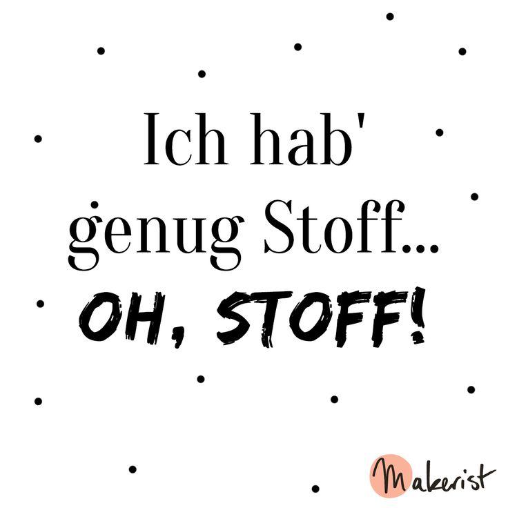 Ein schönes Gefühl, wenn man beim Nähen sagen kann, dass genug Stoff vorhanden ist - via Makerist.de