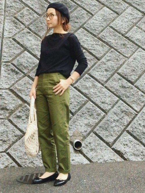 SLOBE IENAのハンチング・ベレー帽「LAULHERE BERET」を使ったchanpekoのコーディネートです。WEARはモデル・俳優・ショップスタッフなどの着こなしをチェックできるファッションコーディネートサイトです。