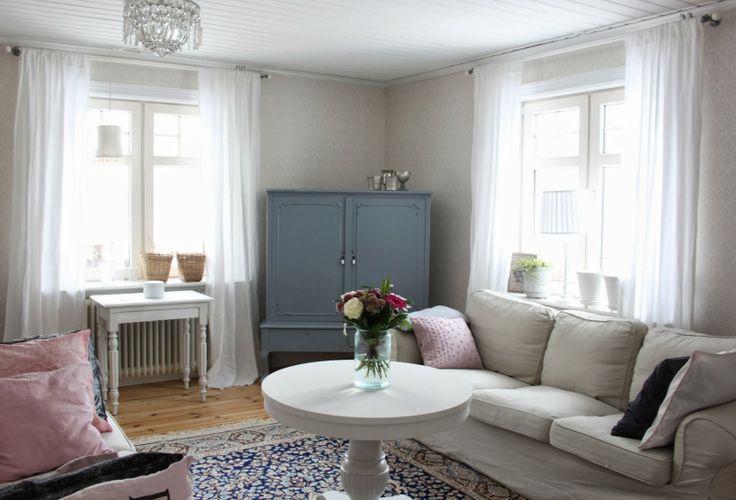 Vårt vardagsrum- Lantligt på Svanängen.