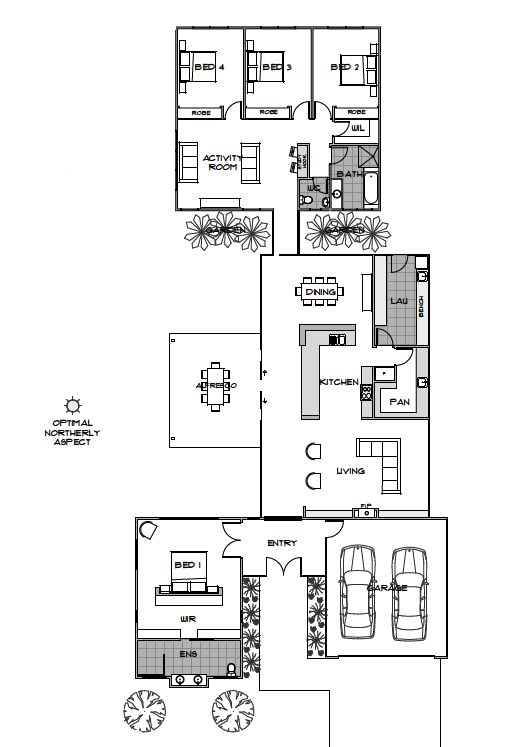 Narrow House Plans on small block house plans