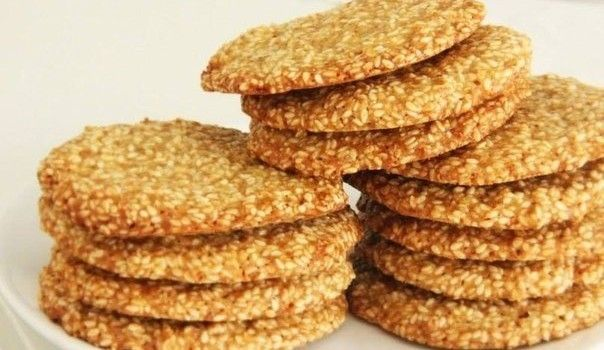 Najchutnejšie sezamové keksíky