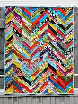 great herringbone block tutorial!: Scrap Quilts, Chevron Quilts, Scrapquilts, Herringbone Blocks, Blocks Tutorials, Color, String Quilts, Quilts Ideas, Herringbone Quilts Tutorials