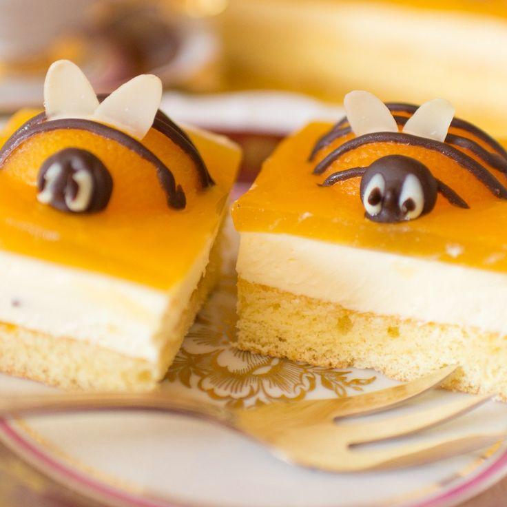 Osterkuchen | Anleitung Bienenkuchen | Aprikosen-Schmand-Kuchen