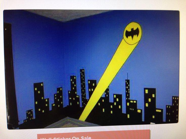 11 best Batman bedroom images on Pinterest | Batman bedroom ...
