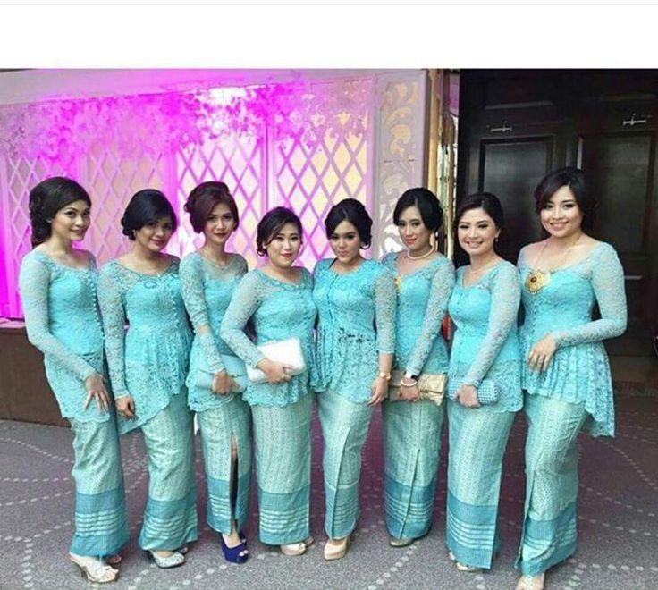 Model Kebaya Seragam Trend 2016 untuk Pernikahan Acara Keluarga Pesta Resmi - Trend Baju Kebaya 2016