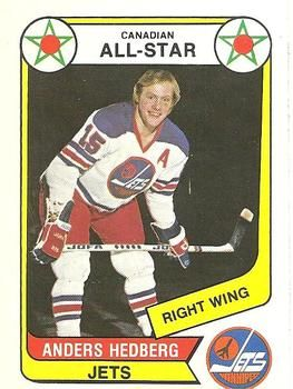 1976-77 O-Pee-Chee WHA #66 Anders Hedberg Front