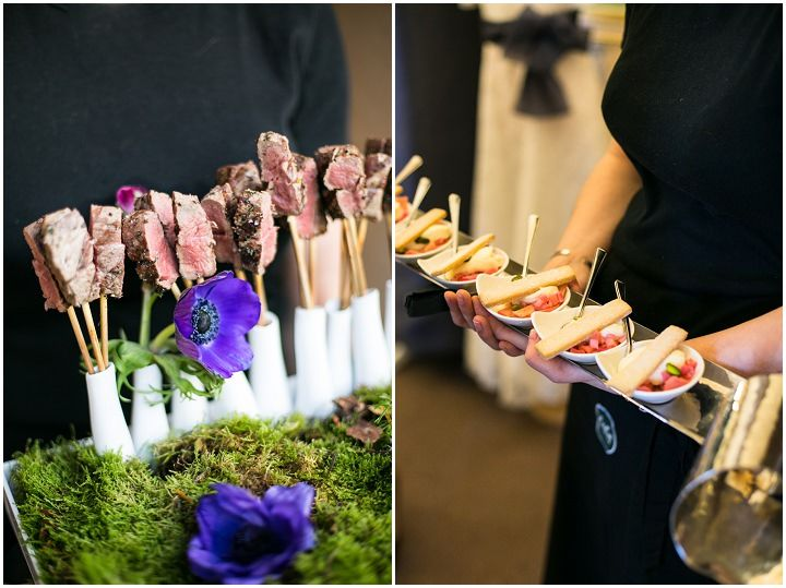 Non traditional menu options from kalm kitchen wedding for Wedding canape alternatives