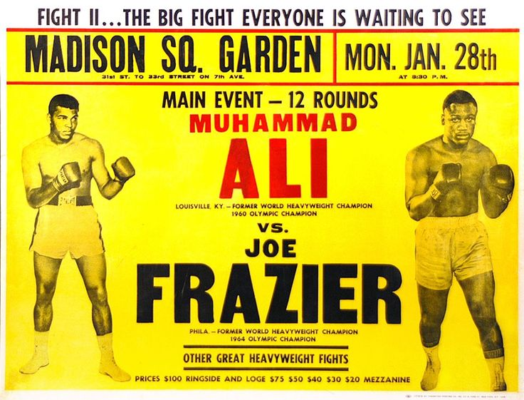 love those old boxing posters