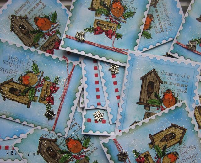 Art Journey Design-team: Kerstkaarten/christmascards